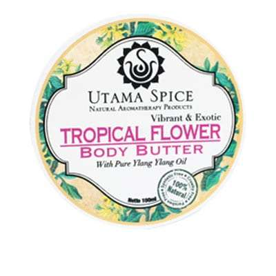 Body Butter Tropical Flower. Bali Direct