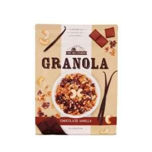 Chocolate Vanilla Granola