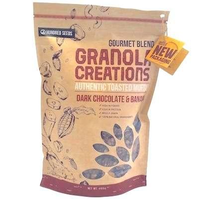 Dark Chocolate & Banana Granola