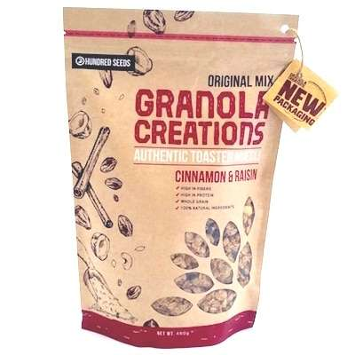 Cinnamon Raisin Granola