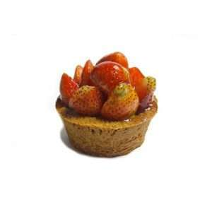 Gluten-free banana flour fruit tart strawberry - Bali Direct.