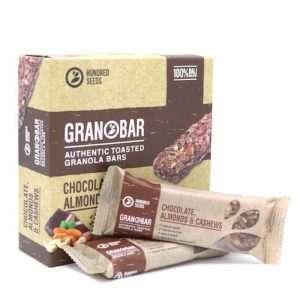 Chocolate, Almonds & Cashew Granobar