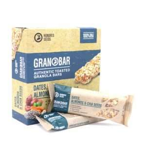 Dates, Almonds & Chia Seeds Granobar