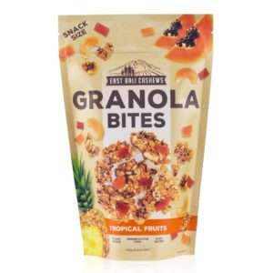 Tropical Fruits Granola Bites