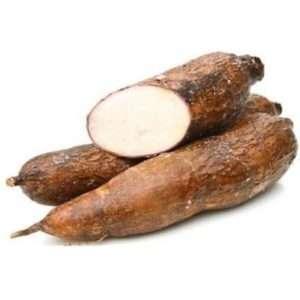 organic cassava root