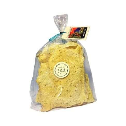 rosemary & lemon crackers