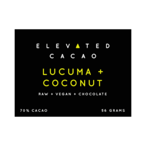 Elevated Cacao Lucuma and Coconut Bar