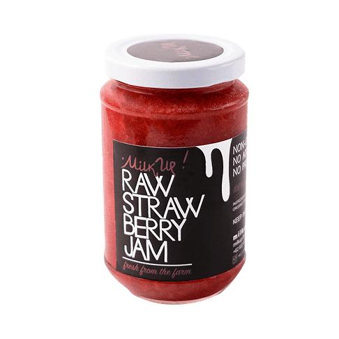 Raw Strawberry Jam