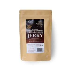 Sweet & Savory Five Spices Pork Jerky