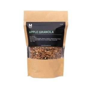 vegan apple granola