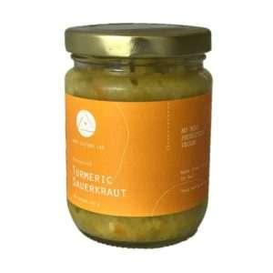 Organic Turmeric Sauerkraut