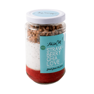 Vegan Strawberry Chia Love