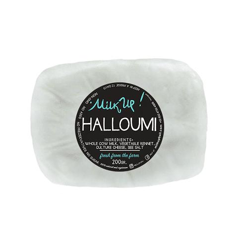 Milk Up Halloumi