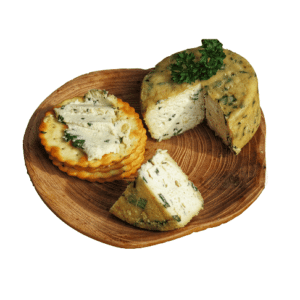Vegan Garlic & Herb Cheese
